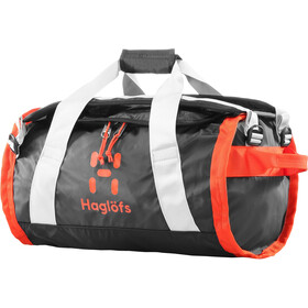 Haglöfs Lava 30 Duffel Bag, true black/habanero
